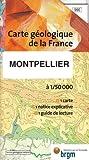 echange, troc Cartes BRGM - Carte géologique : Montpellier