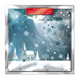 Paper House Charity Christmas Cards - Pack Of 6 Cards - Snow Angel - In Aid of the following Charities: Marie Curie Cancer Care, Age UK, MNDA, Tenovus, British Heart Foundation, Self Unlimited