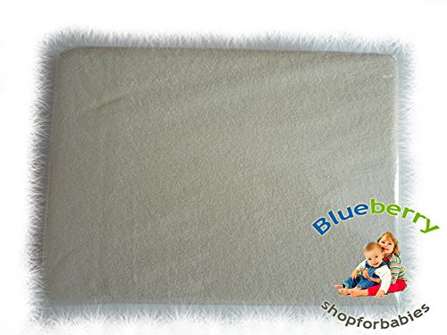 Blueberry Shop Jersey Cotton Fitted Sheet Toddler Bed Baby Cotbed 70X140Cm Apricot