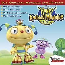 Henry Knuddelmonster 4 (       ungekürzt) von Gabriele Bingenheimer Gesprochen von: Moritz Pliquet, Maximiliane Häcke, Julia Stoepel, Hannes Maurer, Ulrike Stürzbecher