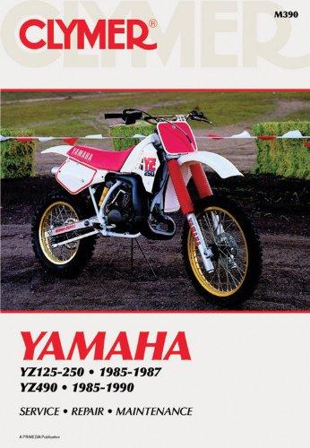 Clymer Yamaha Yz125-490 85-90: Service, Repair, Maintenance: Clymer Workshop Manual (Clymer Motorcycle Repair)