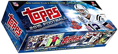 NFL 2015 Topps Football Cards Complete Set Trading Card Box [Retail] by NFL günstig online kaufen