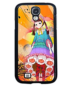 PrintVisa Metal Printed Music Designer Back Case Cover for Samsung Galaxy S4 I9500/ I9505-D4715