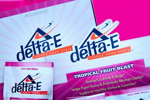Delta-E Mental Clarity & Focus! Energy Drink - (7) Packets Of Delta E