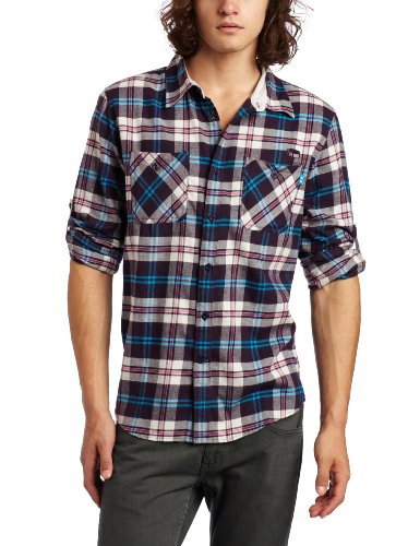 Lance Right Oakley-Camicia a maniche lunghe, da uomo viola Purple Shade XL