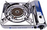 Soniko NS3500CS Stainless Steel Portable Gas Stove with InfraRed Technology Ceramic Burner from New Star International