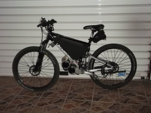 Fastest Cyclone Ebike Kit Double 3000 Watt 72 Volt with Top Speed up to 120km/h (19 KG)
