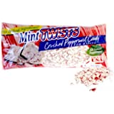 Atkinson Mint Twists Crushed Peppermint Candy for Baking 10oz Bag (Pack of 6)