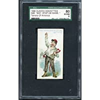 1889 N88 Duke Terrors Of America Say Stop De Game SGC 80 EX/NM 262056 Kit Young Cards