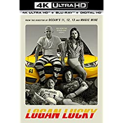Logan Lucky [4K Ultra HD + Blu-ray]