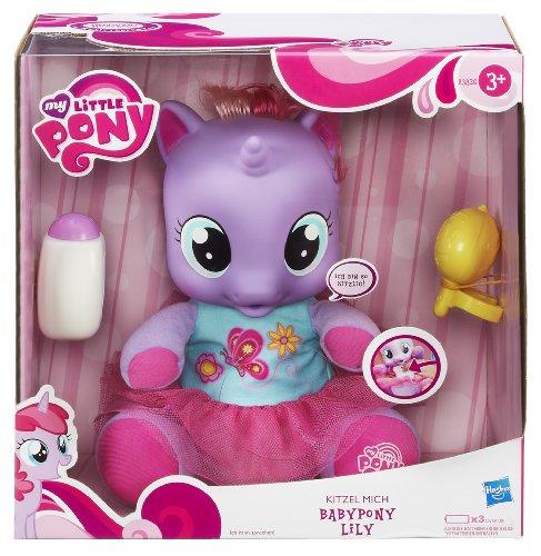 Hasbro A3826100 - My Little Pony Kitzel-Mich Babypony Lily