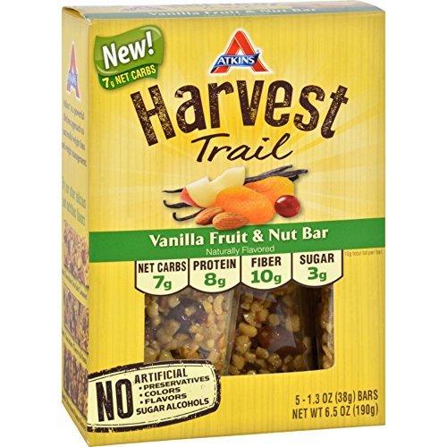 atkins-harvest-trail-vanilla-fruit-nut-bar-5-bars-pack-of-2