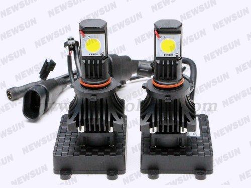 Newsun High Quality 5000K 25W 9006 Hb4 Led Headlight Driving Light Conversion Kit Car Fog Lamp Cree Cxa1512 Chips Super Bright 1800Lm