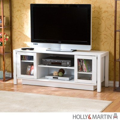 Cheap Holly & Martin Kenton TV Stand – White (63-138-055-6-40)