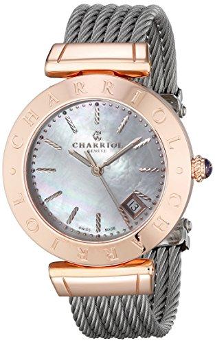 alex-andre-charriol-donna-34-mm-argento-acciaio-inossidabile-braccialetto-cassa-orologio-amp51004