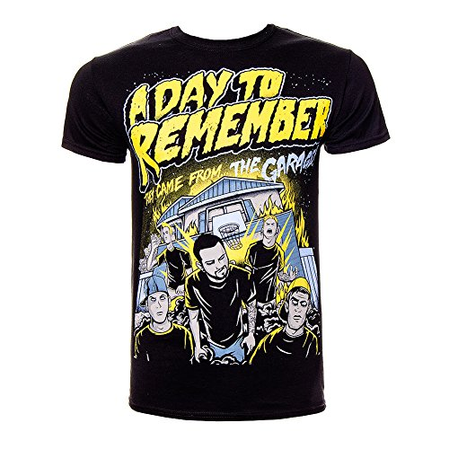 T Shirt A Day To Remember Garage (Nero) - XX-Large