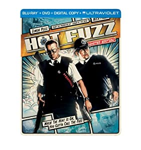 Hot Fuzz (Steelbook) (Blu-ray + DVD + Digital Copy + UltraViolet)