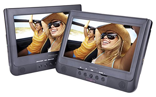 Proscan PDVD1037 10-Inch Dual Screen DVD Player (Portable Dvd Player Bluetooth compare prices)
