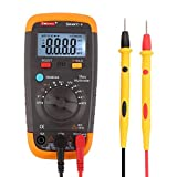 DMiotech Smart-V True RMS Auto-Ranging Digital Multimeter DMM with Sound Control LCD Backlight