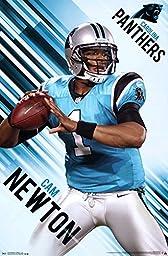 Cam Newton Carolina Panthers Poster 22 x 34in