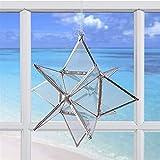 Crystal Star - Glass Prism Ornament - Window Art Suncatcher