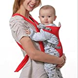 Greenery* Soft and Breathable Front Back Safety Baby Carrier Infant Comfort Backpack Sling Wrap Harness 4-in-1