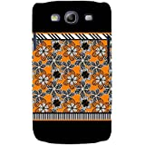 For Samsung Galaxy S3 I9300 :: Samsung I9305 Galaxy S III :: Samsung Galaxy S III LTE Floral Pattern ( Floral Background, Flower, Many Flower, Black Background ) Printed Designer Back Case Cover By FashionCops