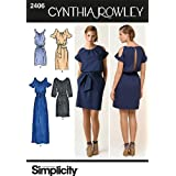 Simplicity Sewing Pattern 2406 Misses Dresses, H5 (6-8-10-12-14)
