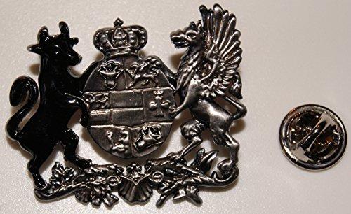 Granducato Meclemburgo-Pomerania Anteriore Strelitz Schwerin 1816lansteckerl distintivo L Pin 297