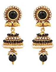 Akshim Multicolour Alloy Earrings For Women - B00NPYAP1C