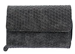 MUNDI Big Fat Wallet 333475/D178 (WOVEN BLACK)