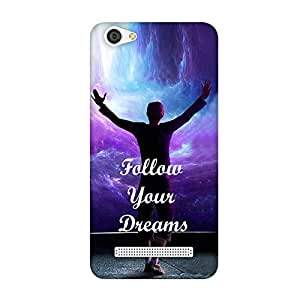 FASHEEN Premium Designer Soft Case Back Cover for Reliance Jio Lyf Wind 6