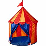 Children's Indoor Play Tent -- CIRCUS TENT- Great Gift for Kids