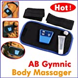 GYMNIC AB BELT ABS MUSCLE TONING SIX PACK WAIST FITNESS GYM SLIMMING NEW