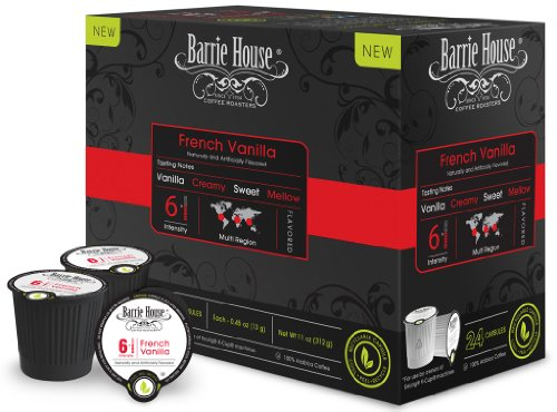 Barrie House French Vanilla Single Cup Capsules (48 Capsules)