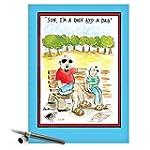 CAJ0129 Jumbo Funny Father's Day Card...