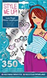 Style Me Up Wooky Love Angel Fabric Transfers and Tattoos (350 Tattoos Pad)