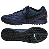 NIKE Tiempo X Finale 10R Ronaldinho Indoor Sccer Midnight Navy Cleat Size 8.5 [AQ2201 440] (Color: G, Tamaño: 8.5 D(M) US)