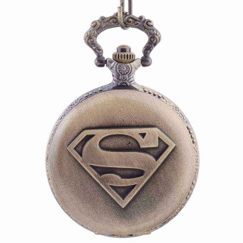 The Man of Steel Superhero Quartz Pocket Watch
