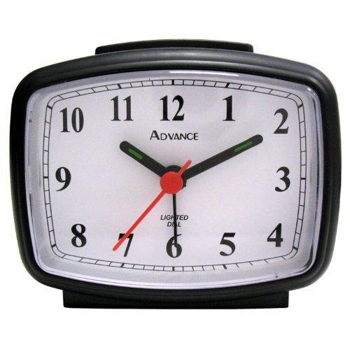 Tna Advance Black Electric Qa Alarm Clock