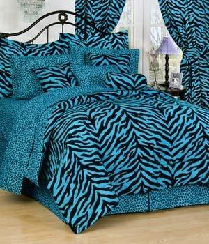 Zebra Comforter Full