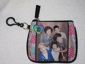 1D One Direction Change Purse & School ID Holder Harry Zayn Louis Niall Liam