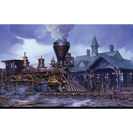 Cheap SunsOut J. P. Strain Charlestown Station 1000pc Jigsaw Puzzle (B001YK5UT6)