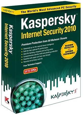 Kaspersky Internet Security 2010 3-User [OLD VERSION]