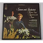 Simon and Garfunkel Signed Autographed Original Parsley, Sage, Rosemary and Thyme Lp Record Album with Vinyl Framed Loa