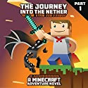 The Journey into the Nether: An Adventure Novel Based on Minecraft, Part 1 Audiobook by  Innovate Media Narrated by Jonathan Stoney