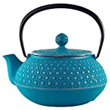 Turquoise Honeycomb Tetsubin Teapot