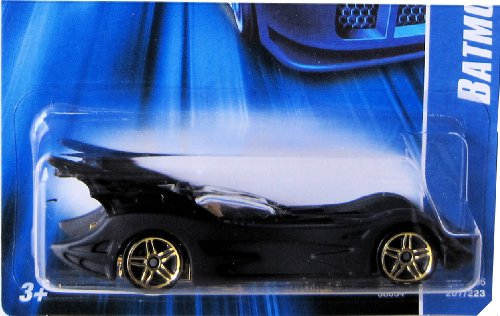 Hot Wheels 2006 Black BATMOBILE #207 Instant Win card 1:64 Scale - 1