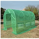 Quictent® Portable Greenhouse Large Green Garden Hot House More Size (15'x7'x7')