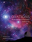 img - for Explorations: Introduction to Astronomy book / textbook / text book
